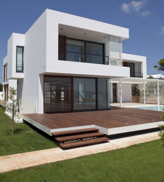 Casa em menorca arq Modern house plans for sale